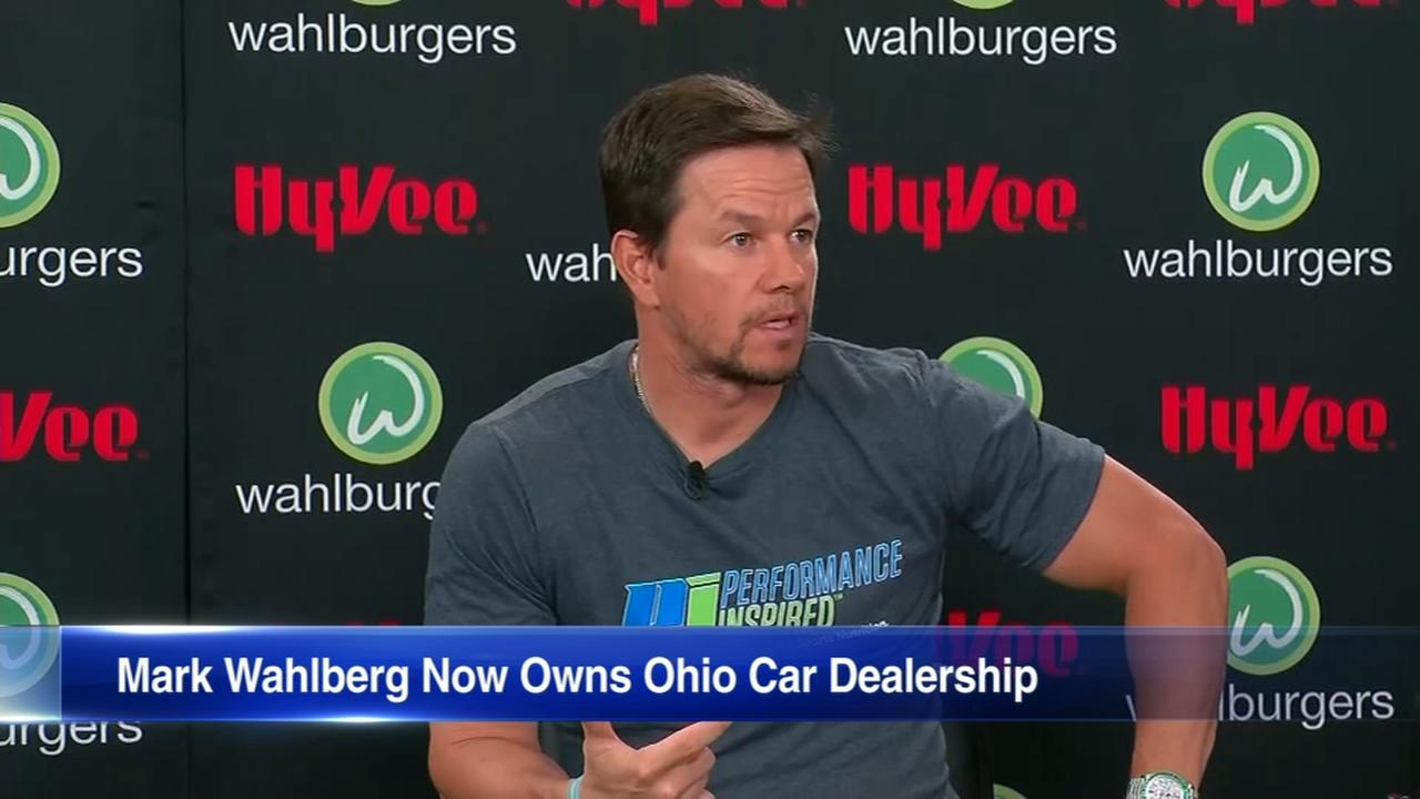Mark Wahlberg opens car dealership