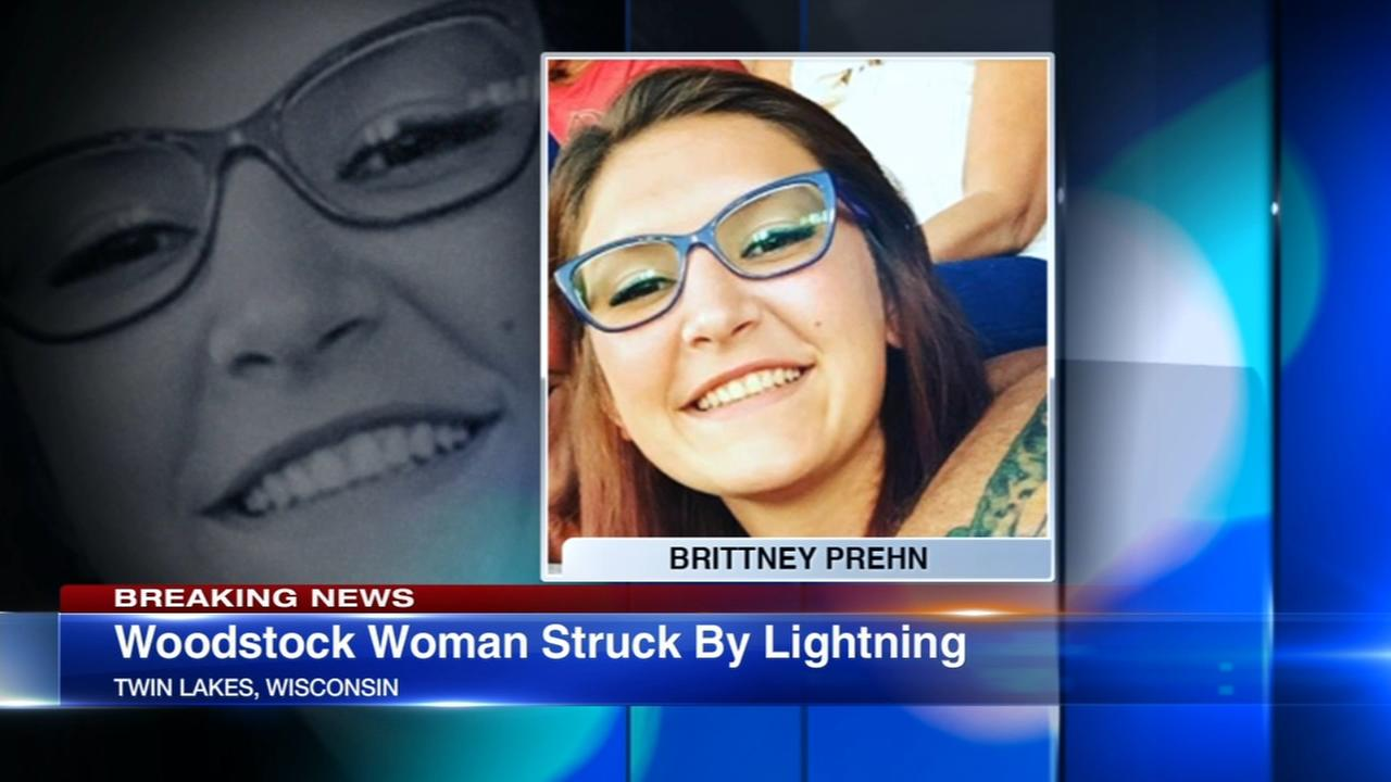 Woman, 22, from Woodstock struck by lightning