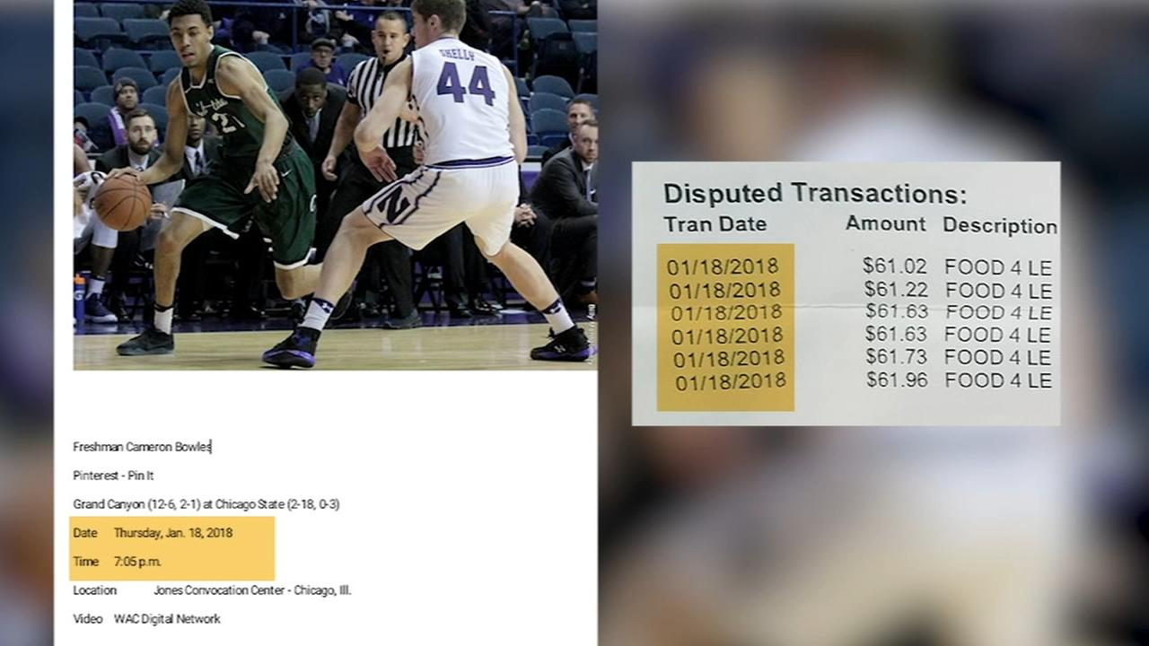 Chicago State basketball player's debit card fraud claimed denied