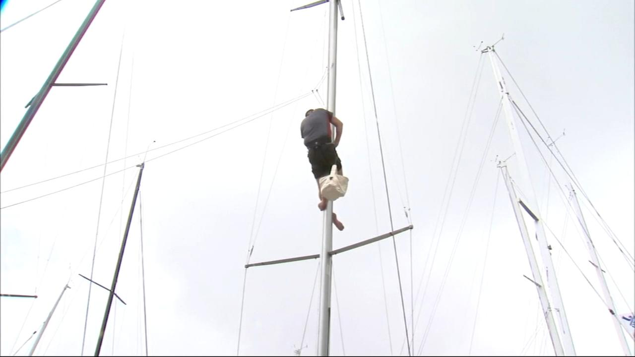 Race to Mackinac Island goes on despite weather concerns