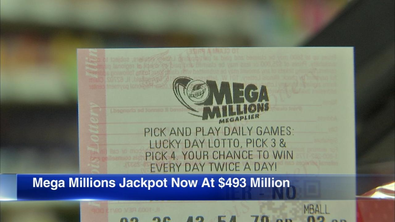 Mega Millions jackpot up to $493M
