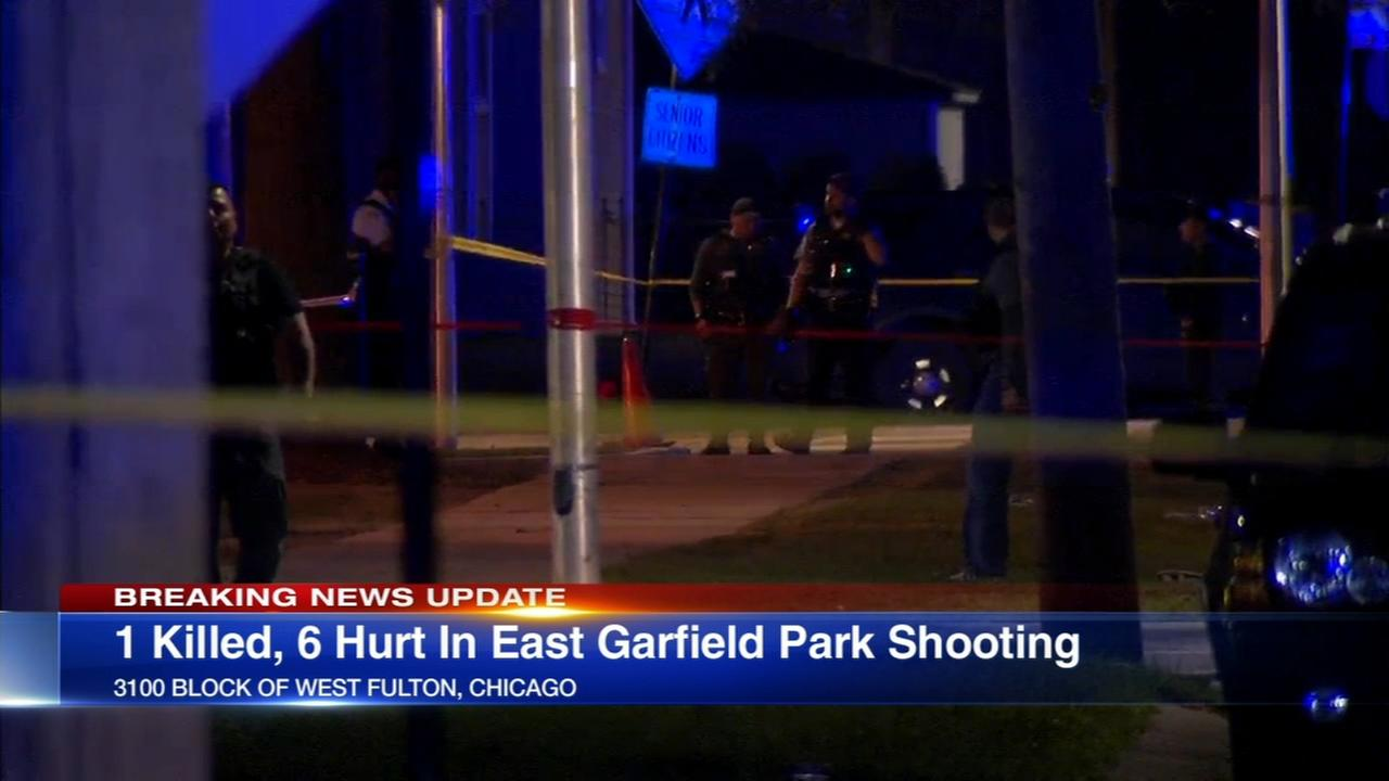 1 killed, 6 wounded in East Garfield Park shooting