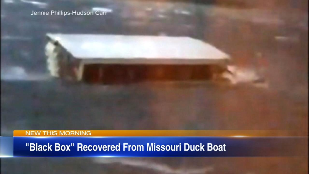 Black box recovered from duck boat that sank in Missouri