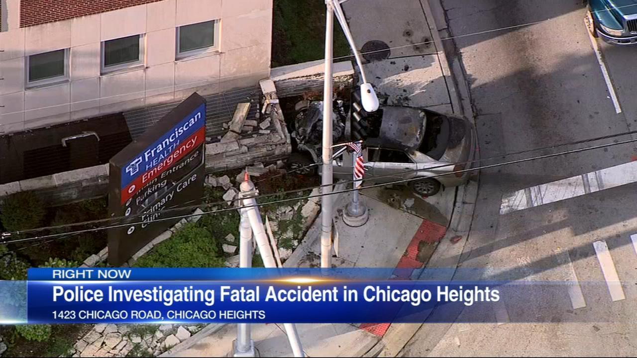 1 killed, 1 injured in Chicago Heights crash