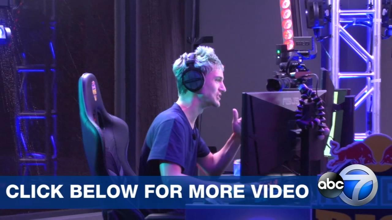 WATCH: One-on-one with Fortnite star Ninja