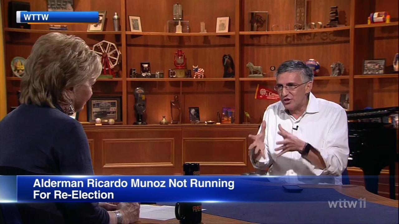 Alderman Munoz not seeking re-election