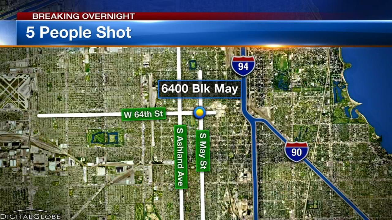 5 shot in Englewood, including 16-year-old girl
