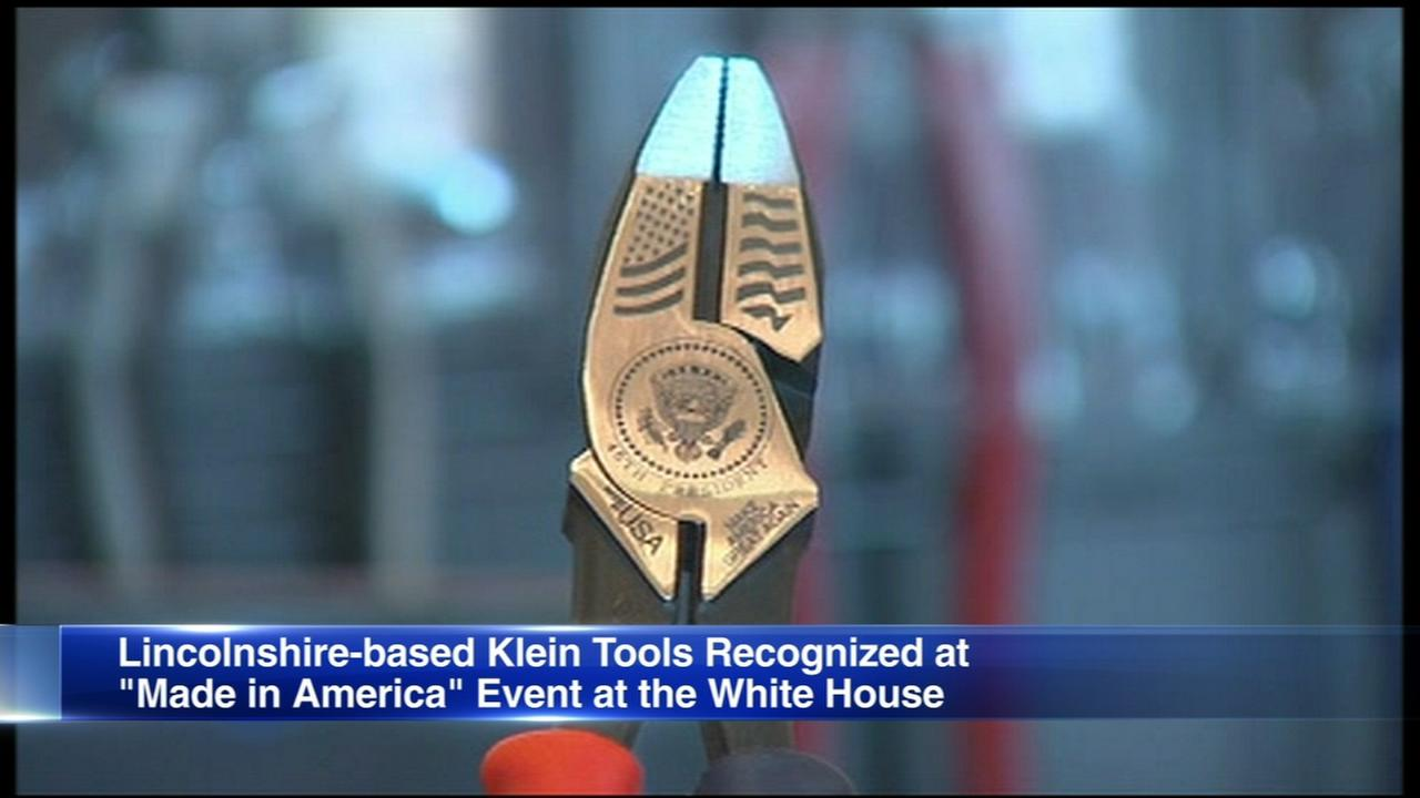 Klein Tools of Lincolnshire honored at White House
