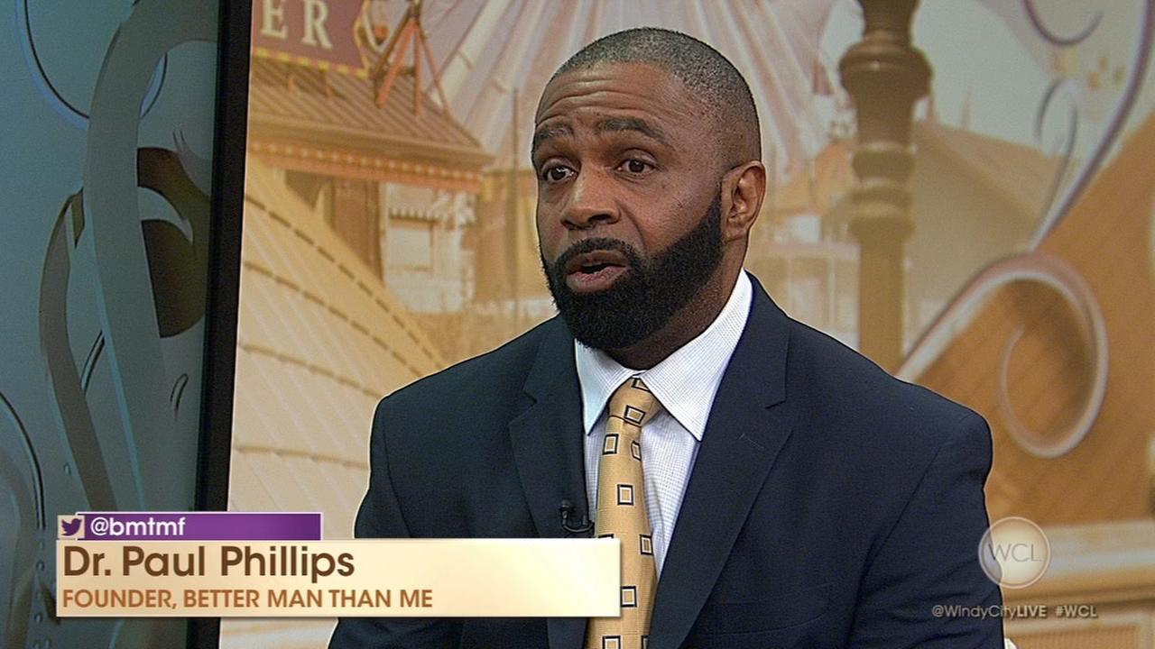 Better Man Than Me founder Dr. Paul Phillips