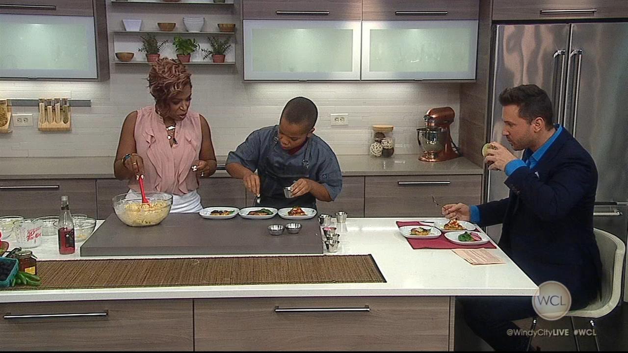 13-year-old Chef Evan Robinson shares corn recipes