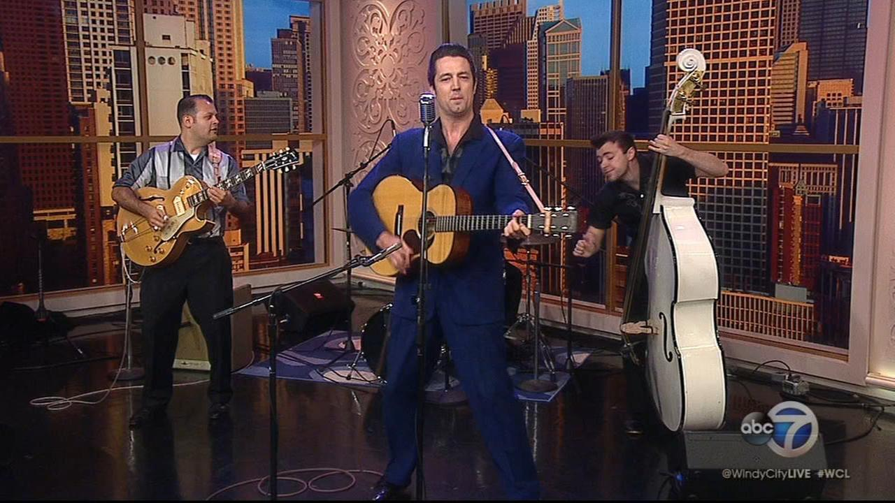 Cast of Heartbreak Hotel performs on Windy City Live