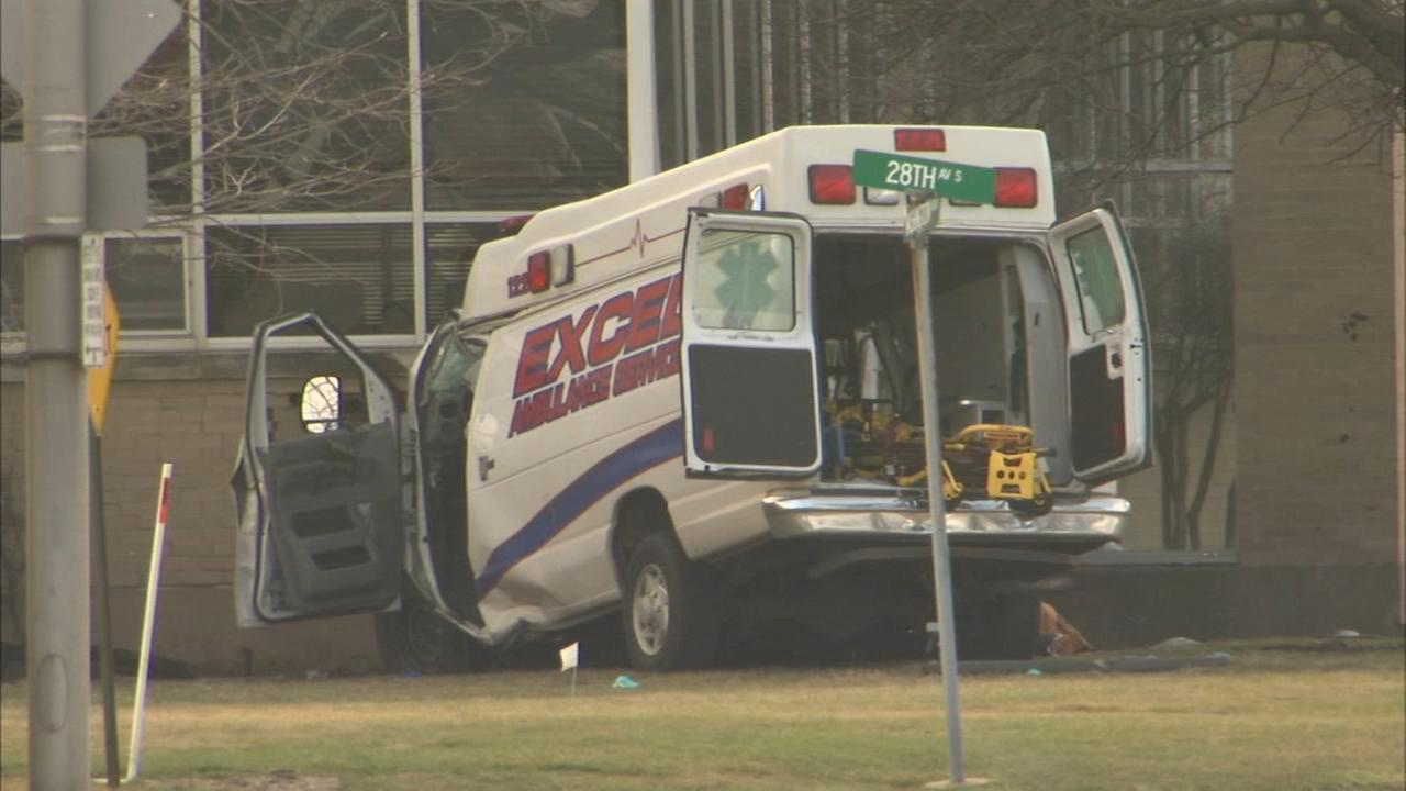Crashed ambulance mystery: 2nd EMT was actually a handyman