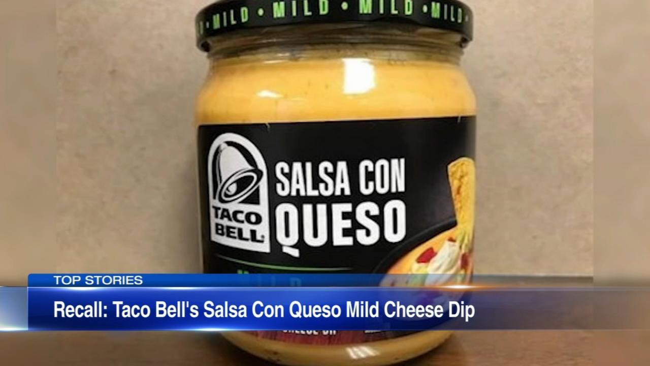 Taco Bell dip recalled, may cause botulism