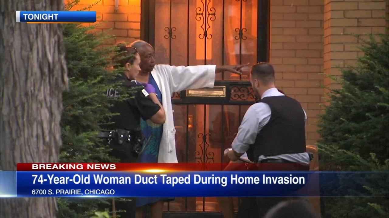 Elderly woman held at knifepoint in Park Manor home invasion