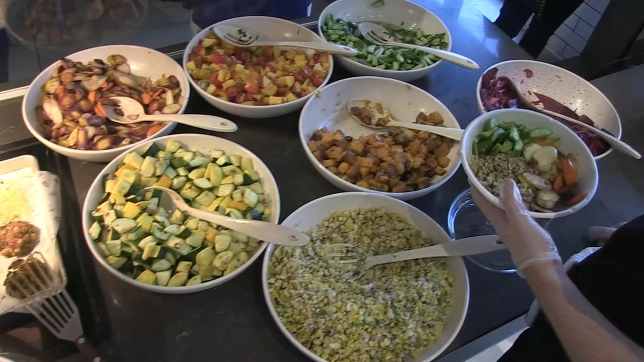 Wells Street Market food hall offers unique lunch options