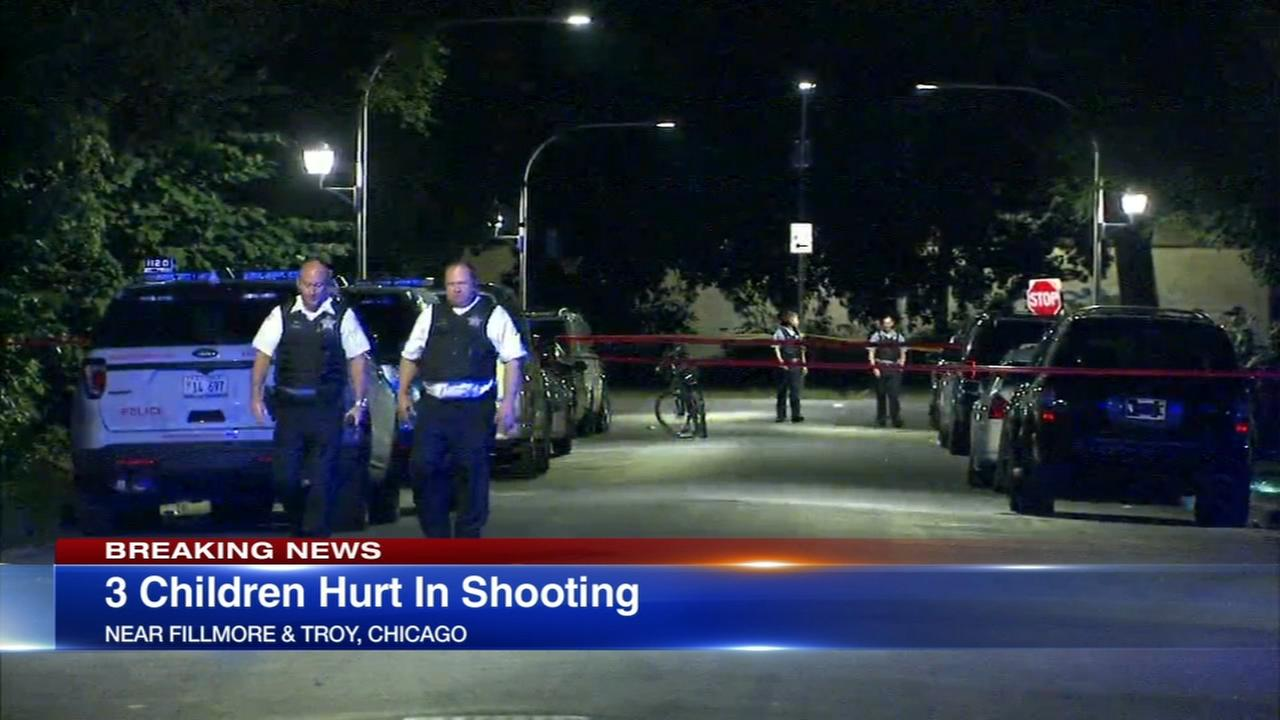 4 shot, including 3 children, in Lawndale