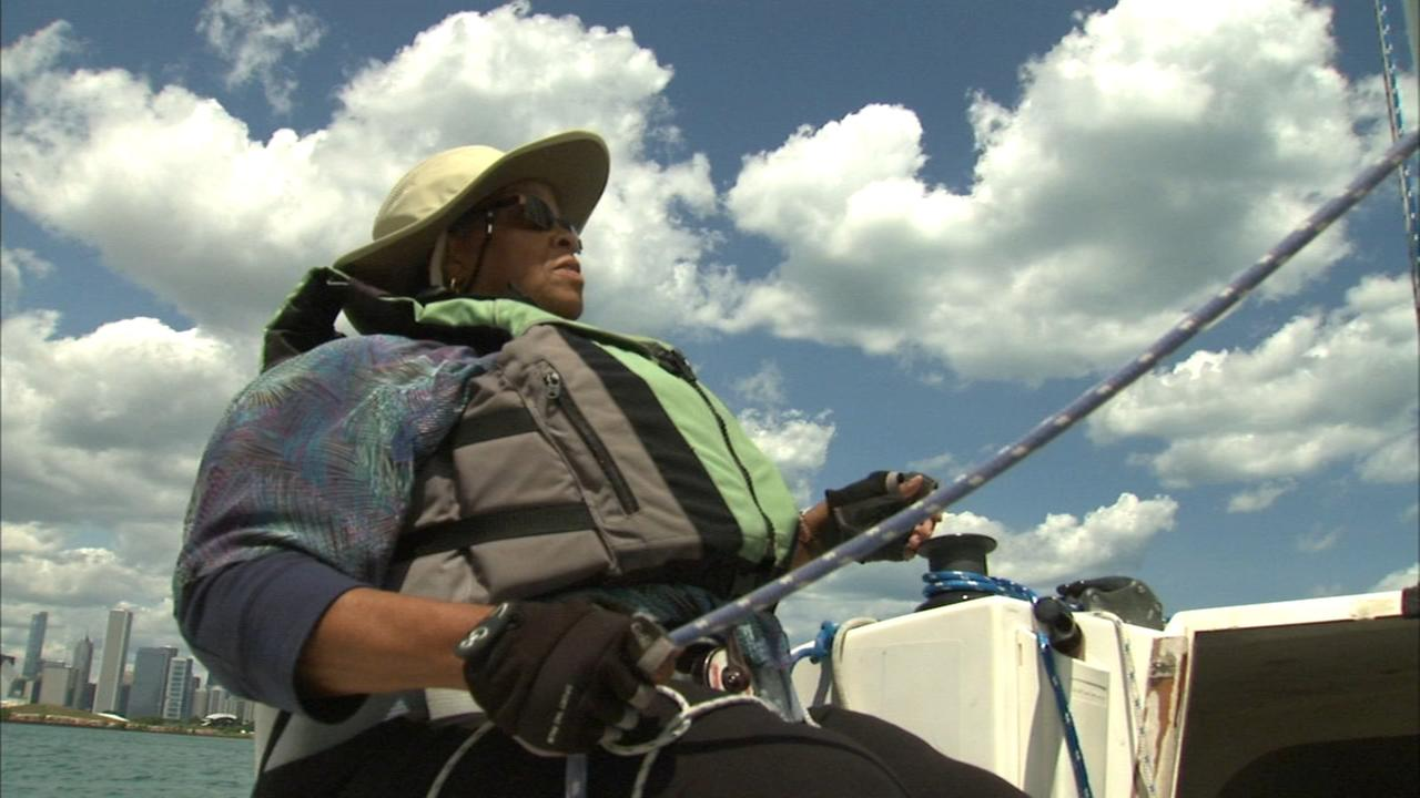 Chicago woman with partial sight competes in Independence Cup