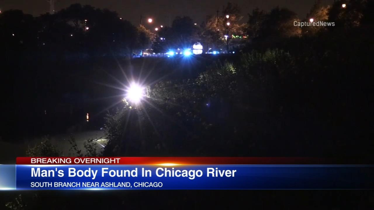 Mans body found in Chicago River