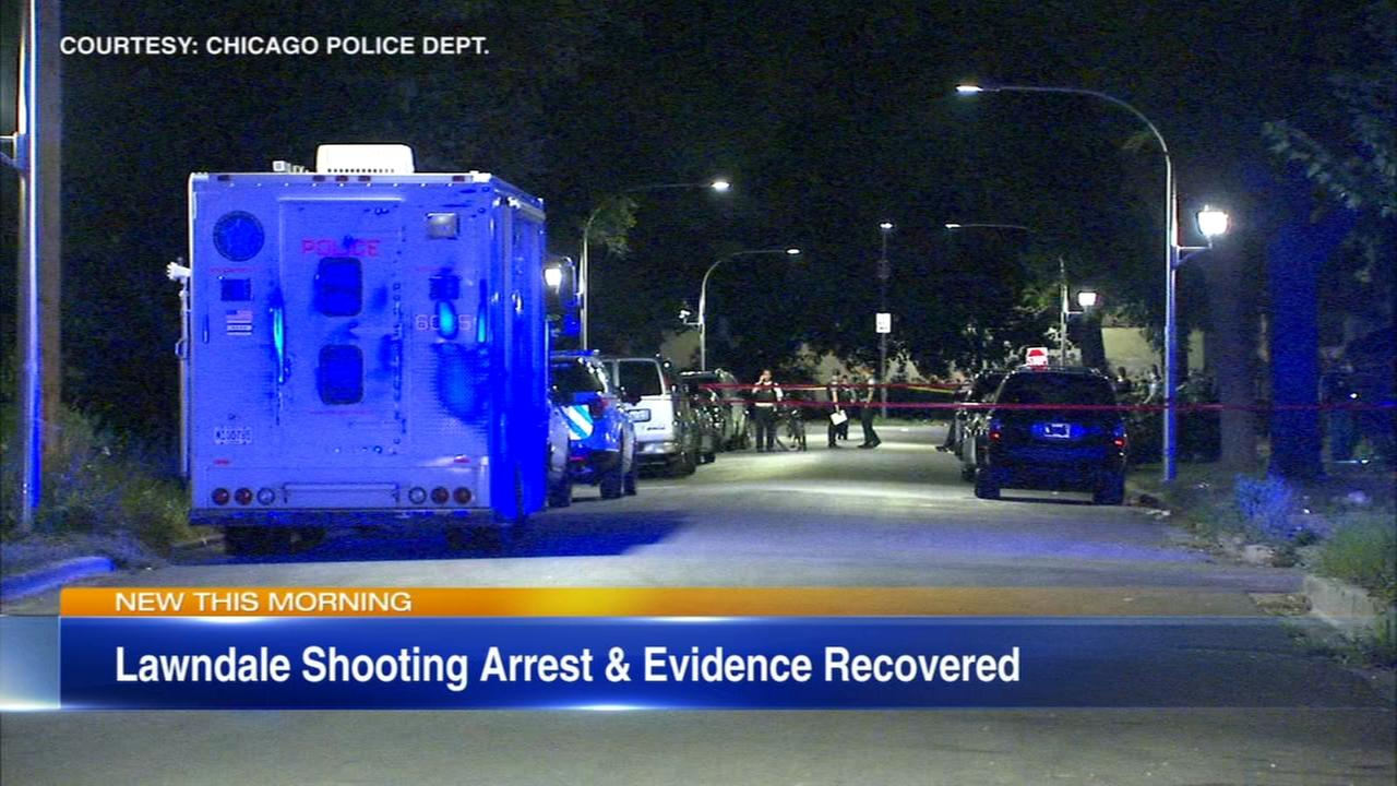 Suspect arrested in Lawndale shooting that left 3 children wounded