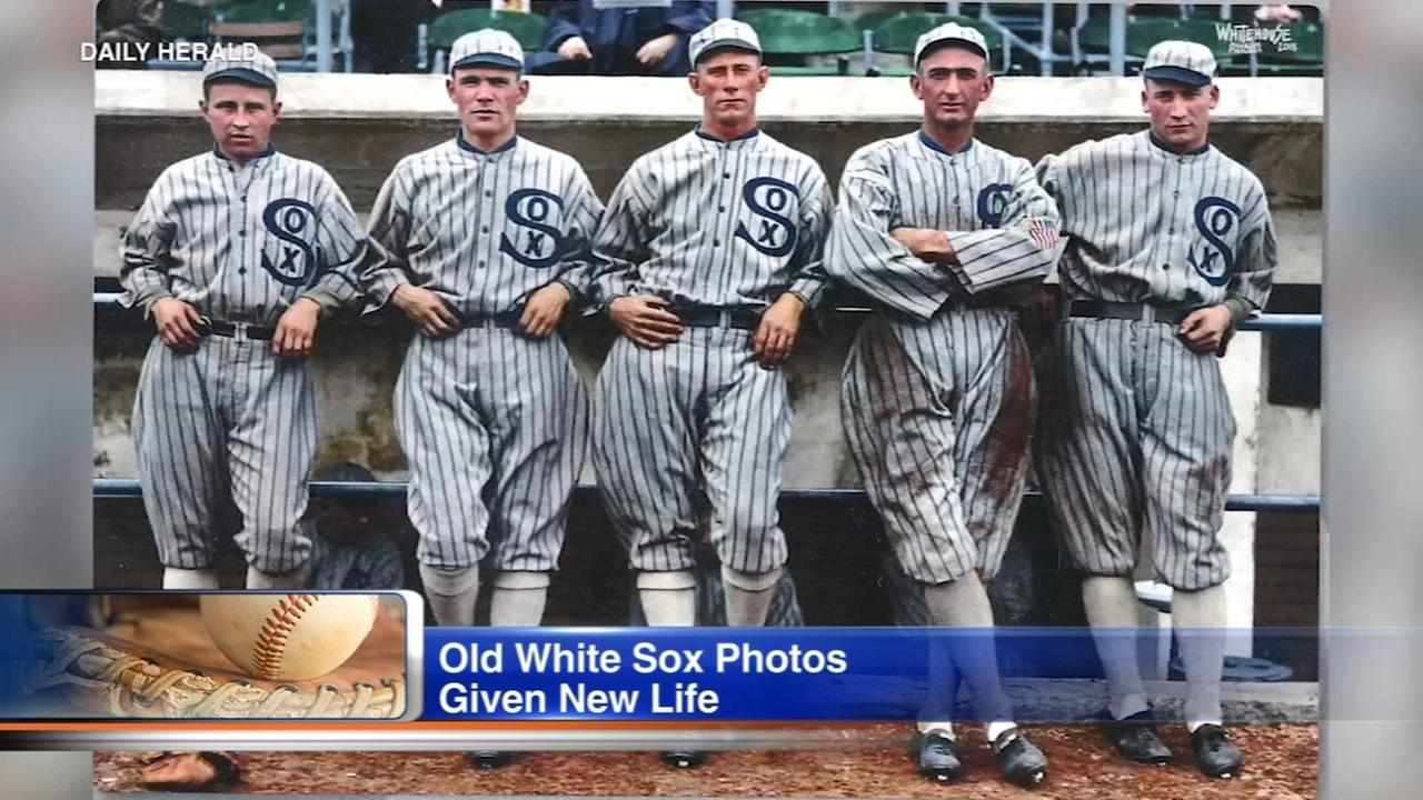 Daily Herald: White Sox fan colorizes historic photos