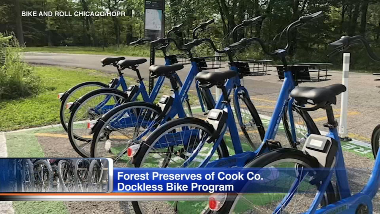 Cook County Forest Preserves expanding dockless bikes program