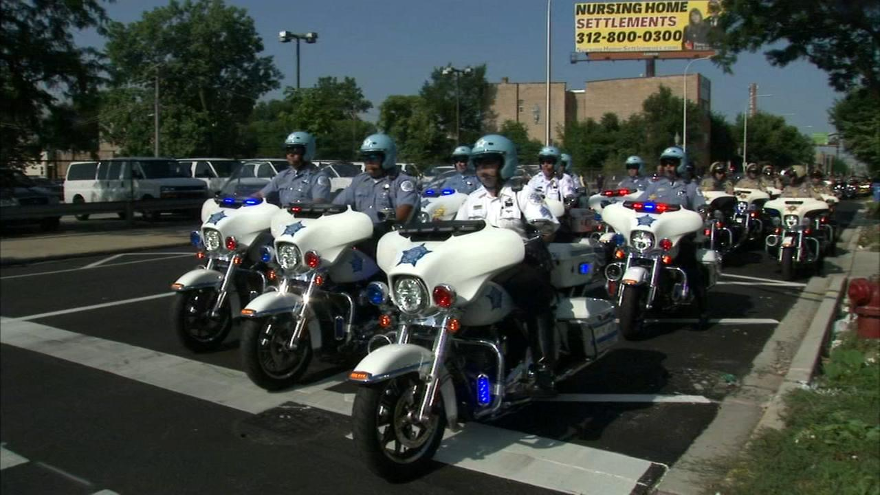 Annual Ride to Remember memorial motorcycle ride honors fallen officers