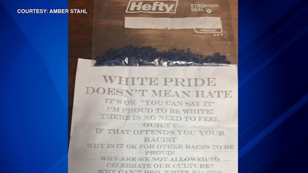 Racist fliers left at homes in Tinley Park neighborhood