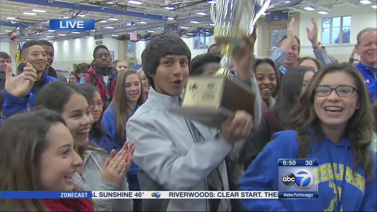 Joliet Central High School wins Friday Flyover