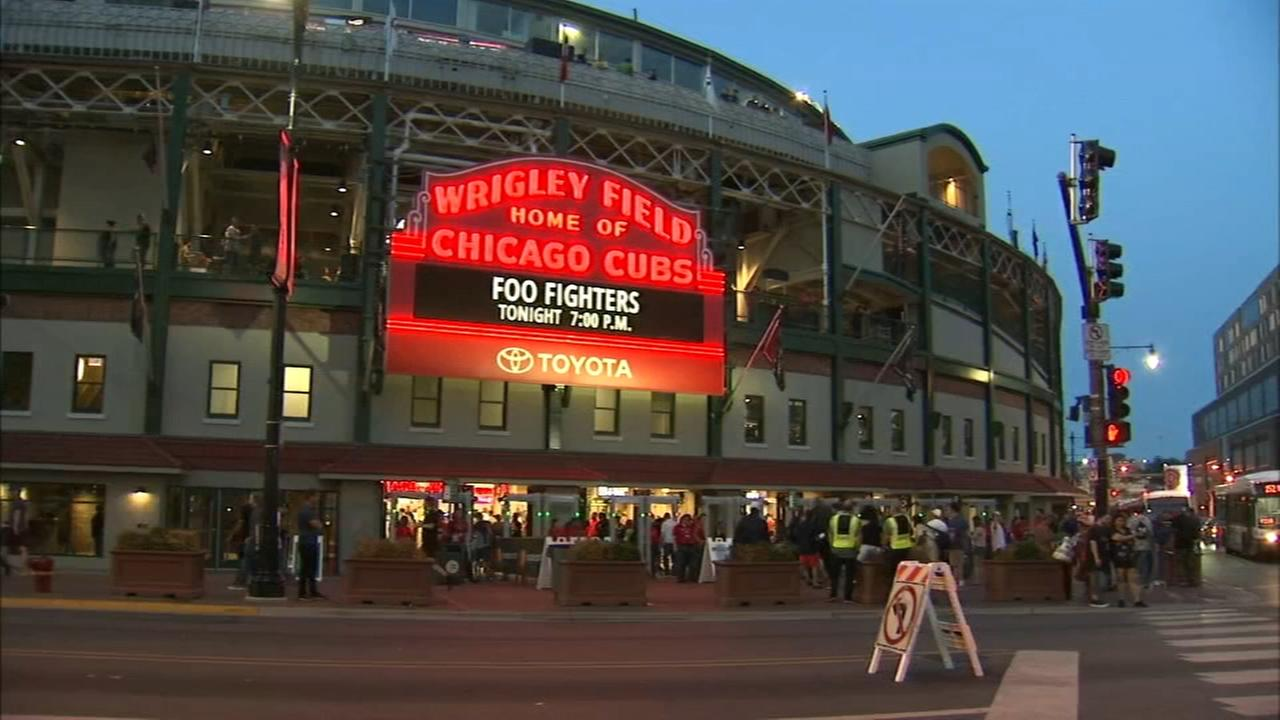 Woman sexually assaulted at Wrigley Field during Foo Fighters concert