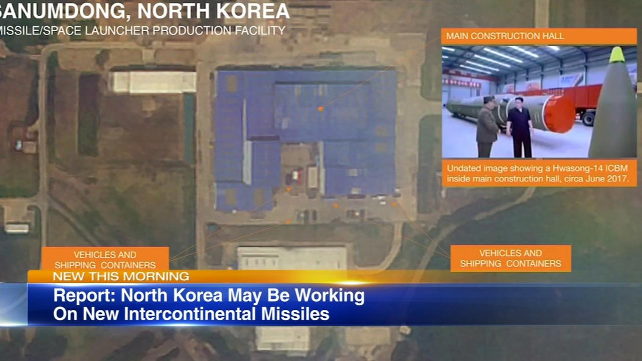 Report: North Korea may be working on new missiles