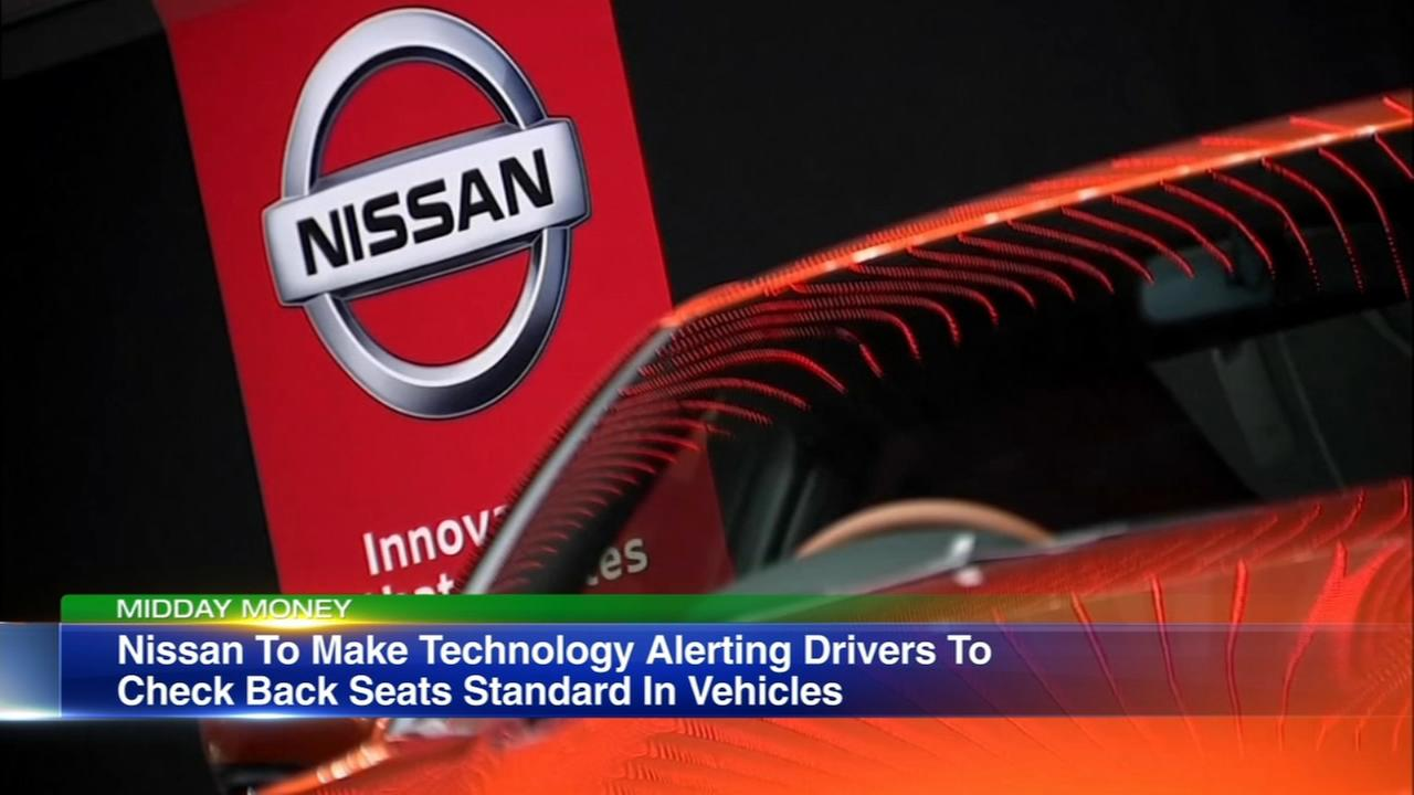 Nissan back seat alert