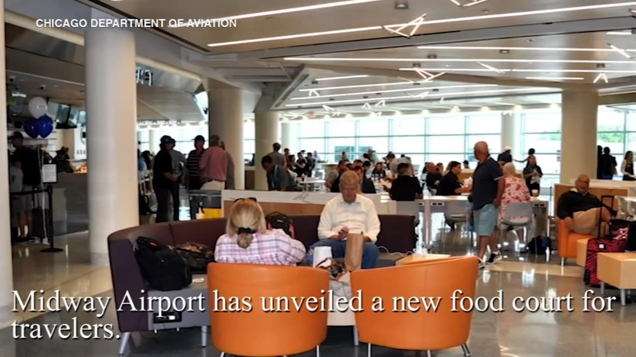 Midway Airports new food court now open