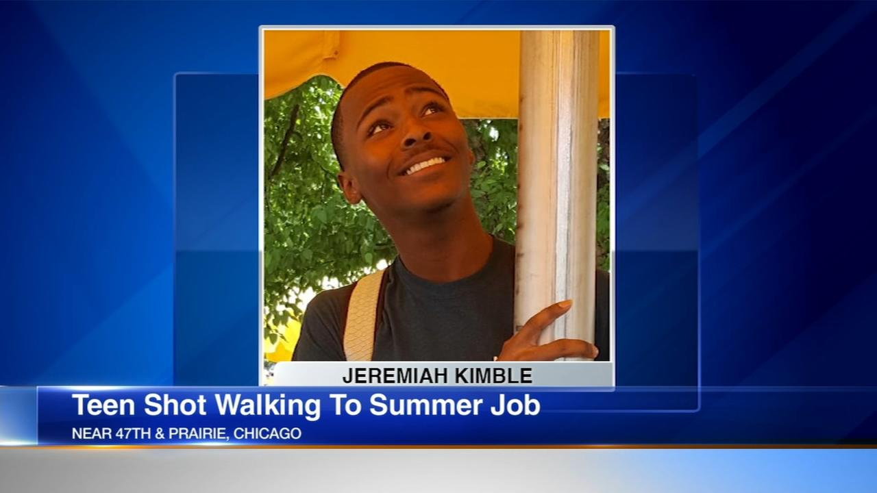 Teen shot multiple times on his way to summer job in Hyde Park