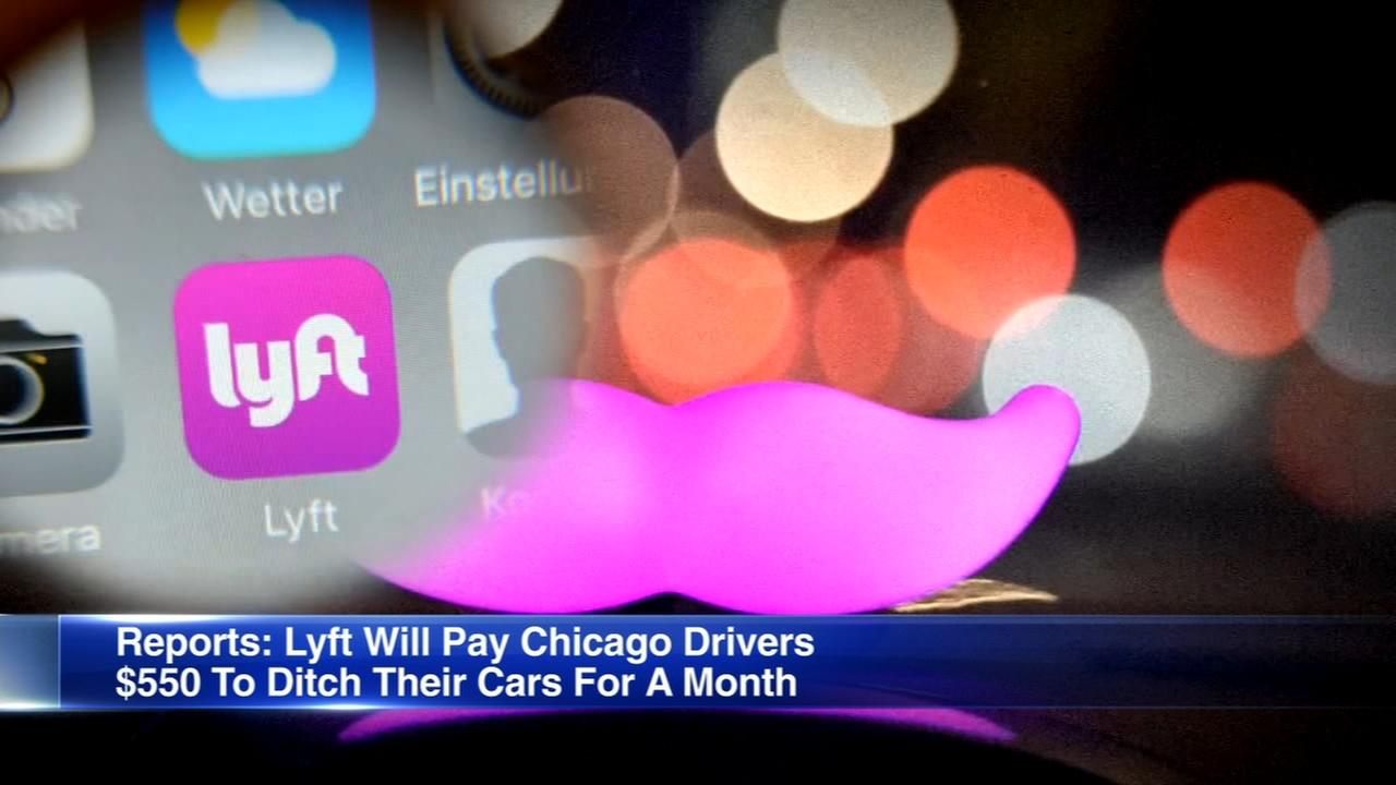 Lyft to offer transportation credit to Chicagoans willing to ditch their cars