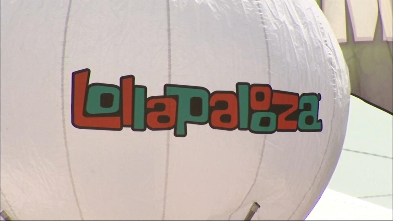 Lollapalooza 2018 final preparations
