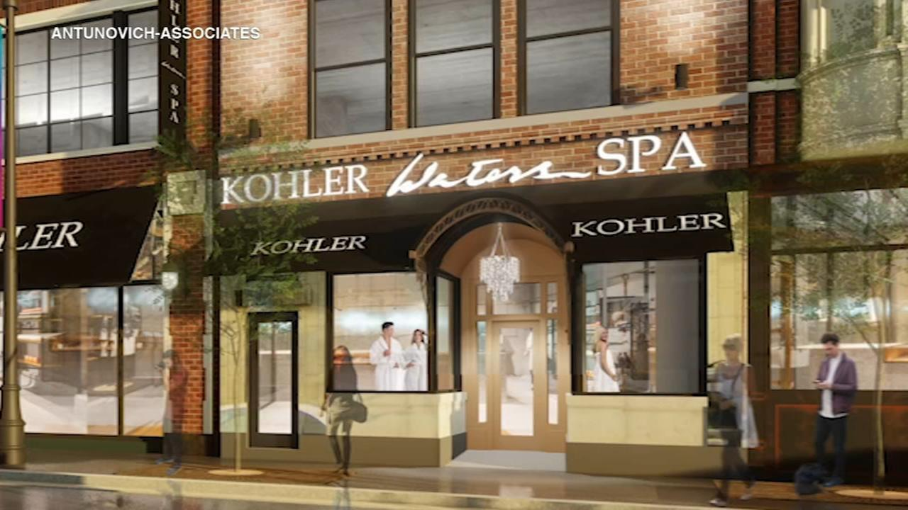 Kohler Waters Spa coming to Lincoln Park