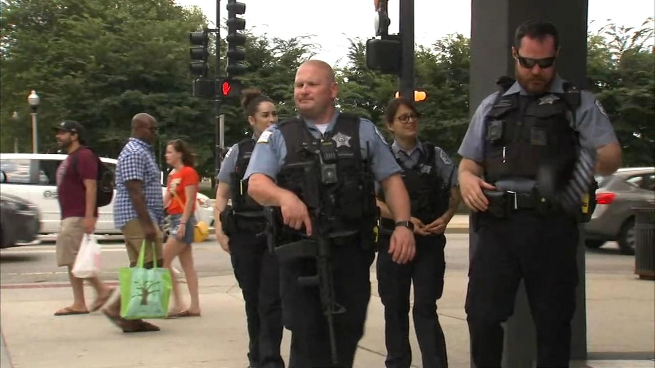 On guard for gun cases: Lollapalooza perimeter hotels on security watch