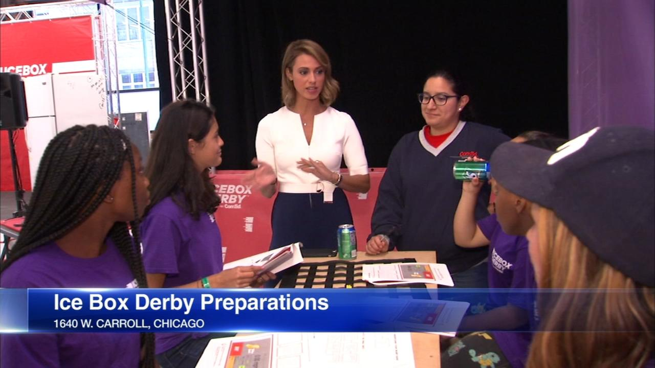 Chicago-area women to compete in ice box derby