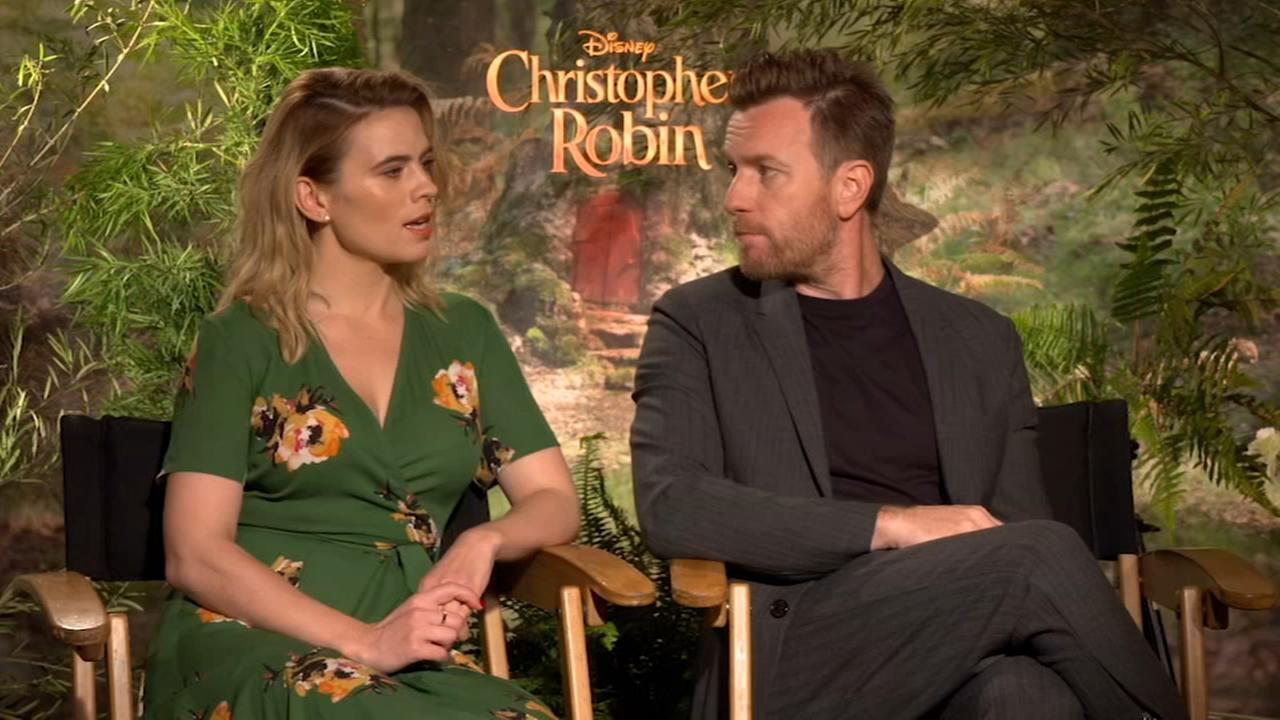 Christopher Robin stars Ewan McGregor and Hayley Atwell discuss new take on classic tale
