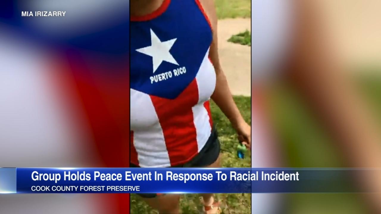 Groups hold Peace in the Preserves event Friday evening