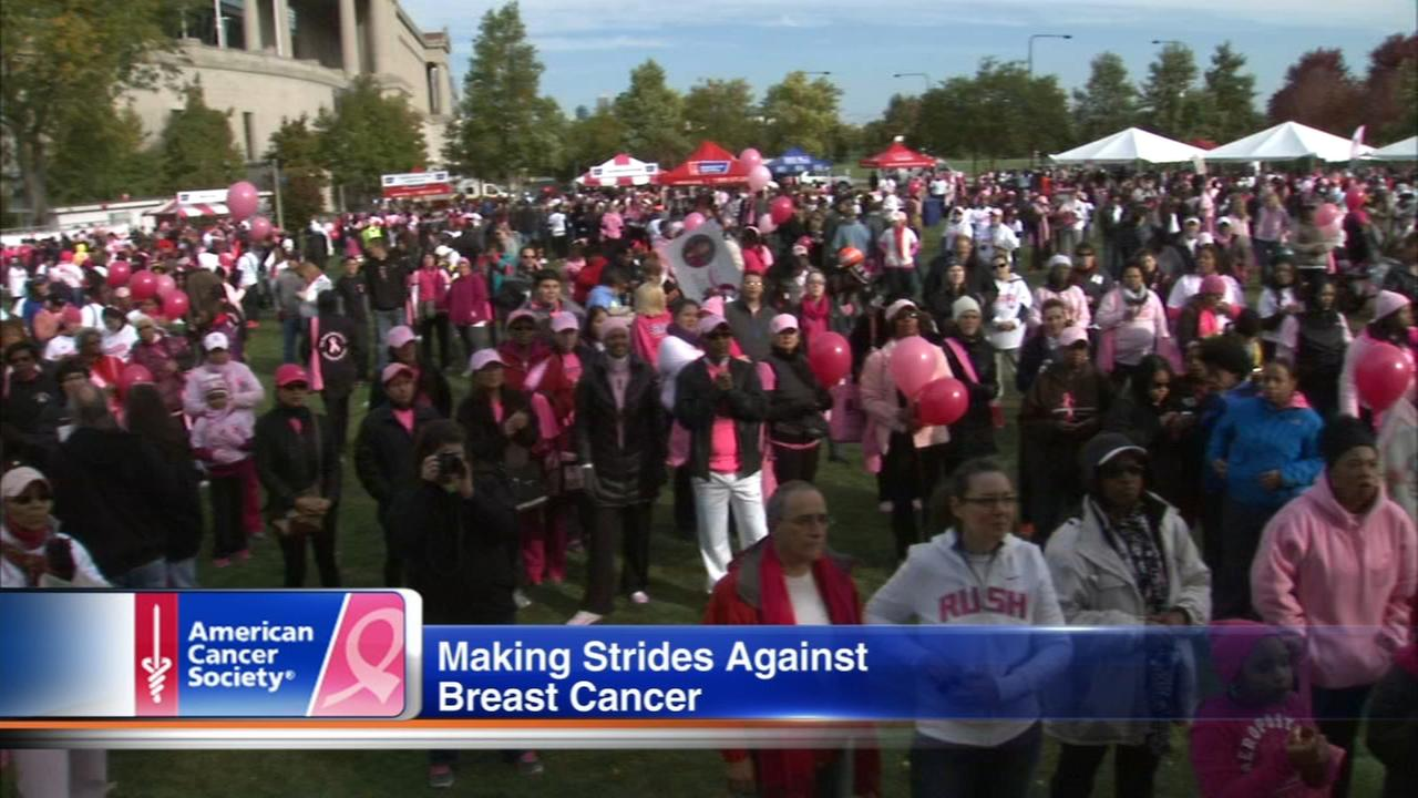 Making Strides Against Breast Cancer kickoff events in Chicago