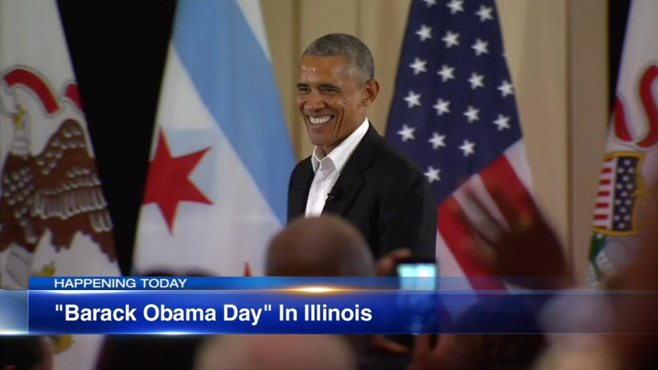 Saturday marks first-ever Barack Obama Day in Illinois