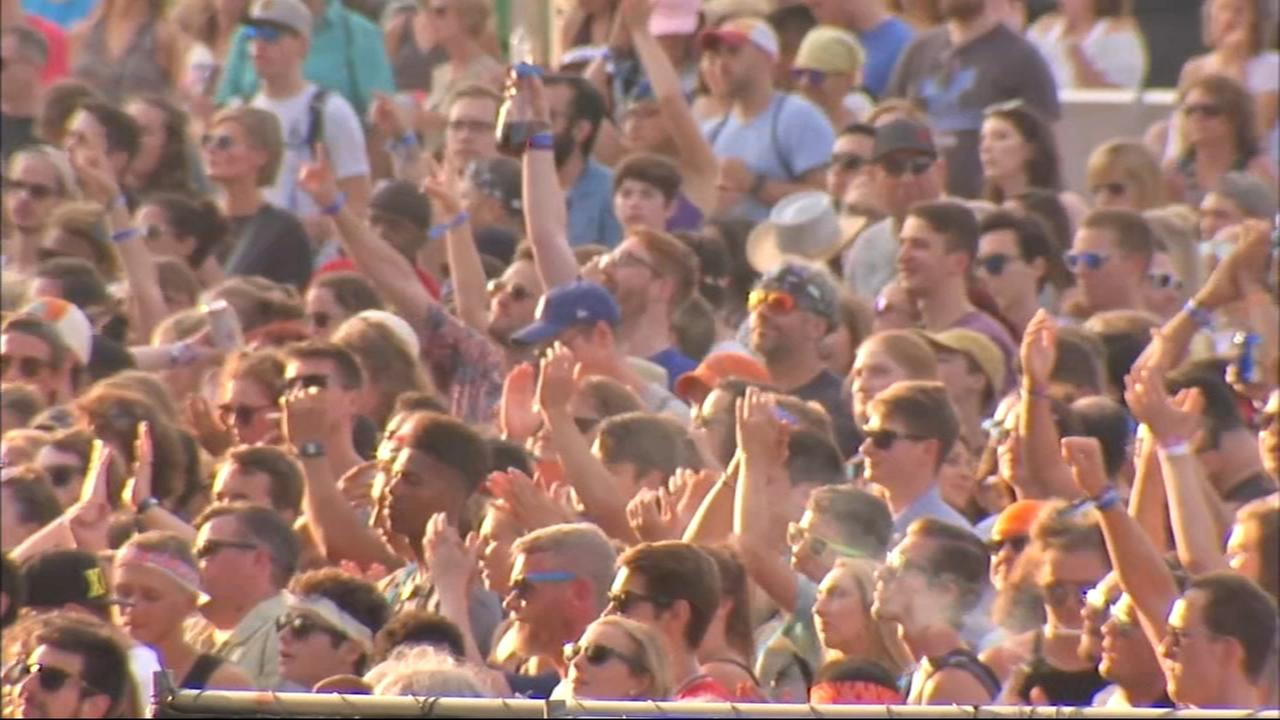 Hot weather could prove dangerous for Lollapalooza fans