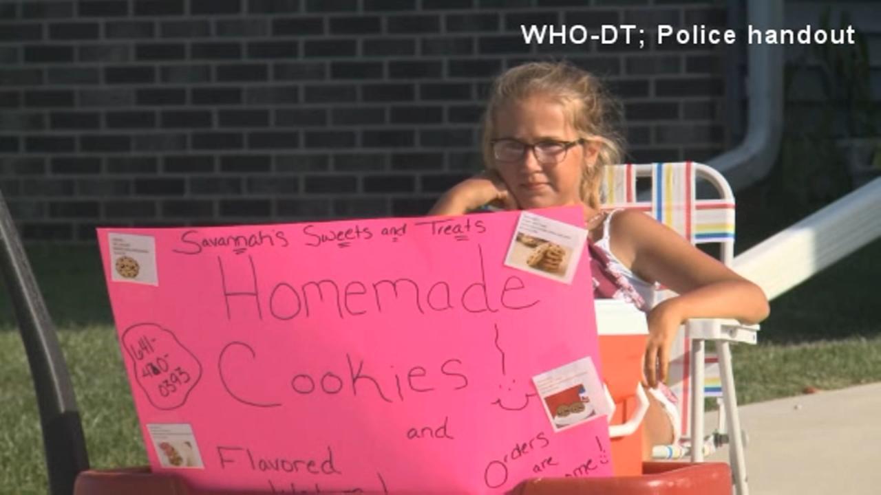 Neighbors call cops on Iowa girl selling cookies