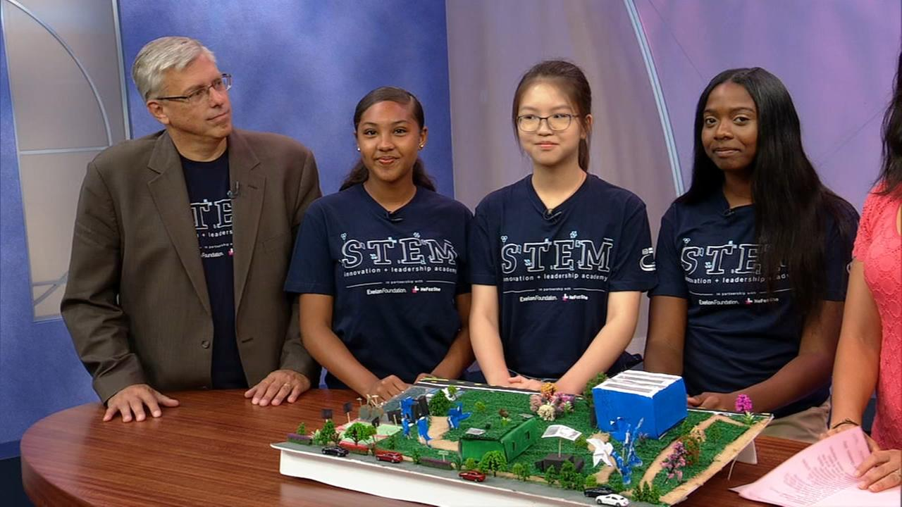 Teen winners of STEM Energy challenge re-envision Jackson Park