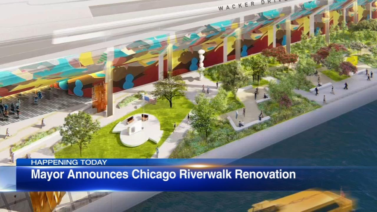 City announcing plans to improve eastern end of Riverwalk