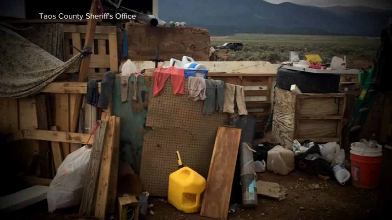 Kids found in rags in New Mexico amid tale of guns, exorcism