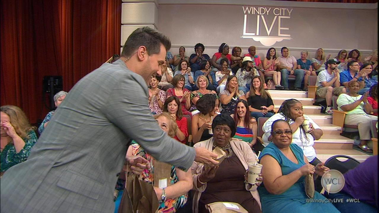 Ryan surprises WCL audience with Potbelly sandwiches
