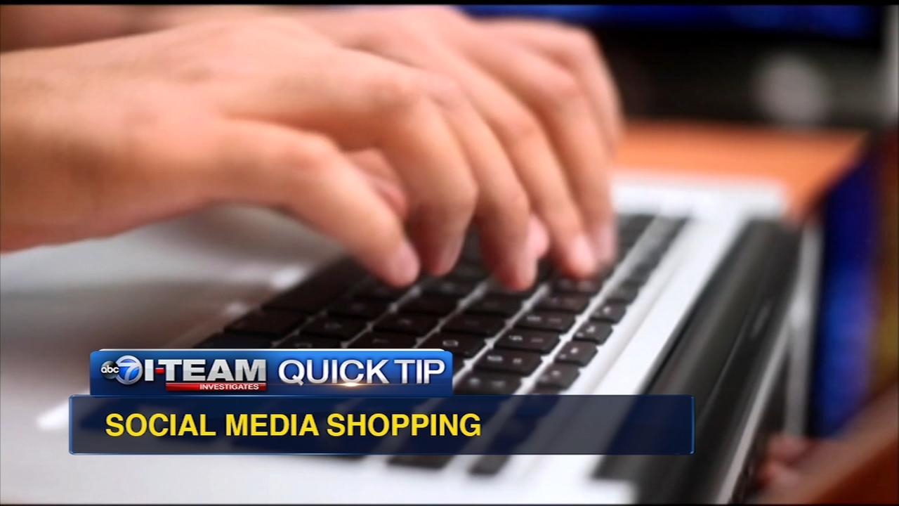 Quick Tip: Social media shopping