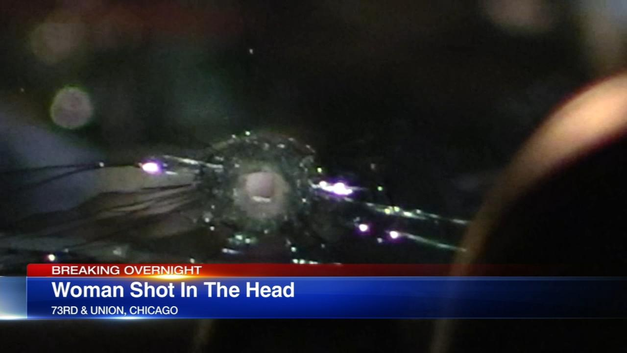 Woman shot in head fleeing Englewood attempted robbery